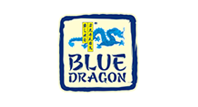 Logo blue dragon